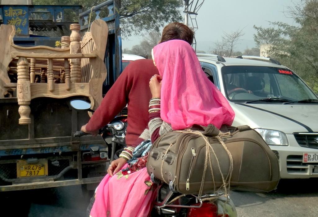Verkehr Indien