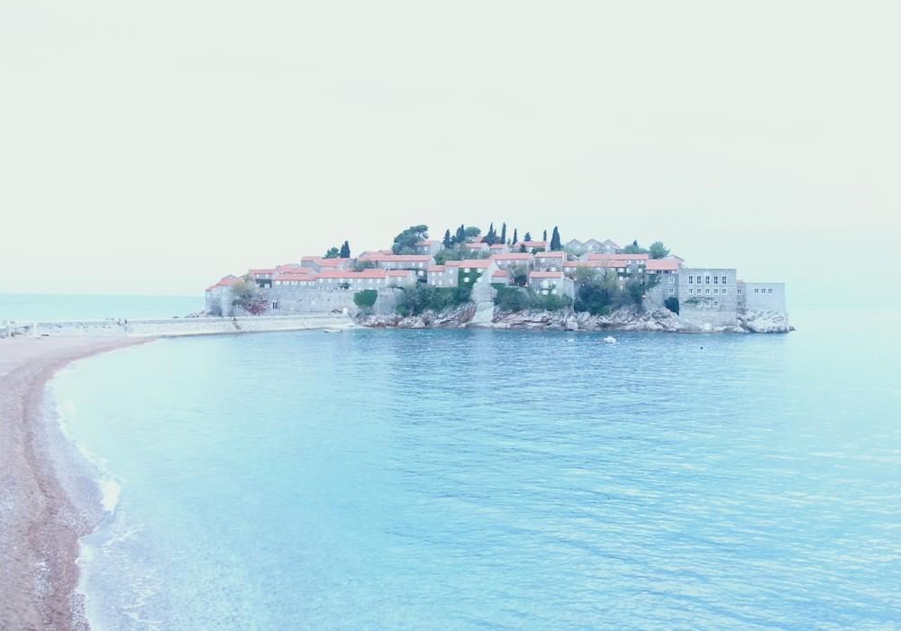 Die Fischerinsel Sveti Stefan